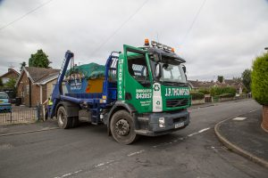 Skip and Coal Deliveries in Rossington
